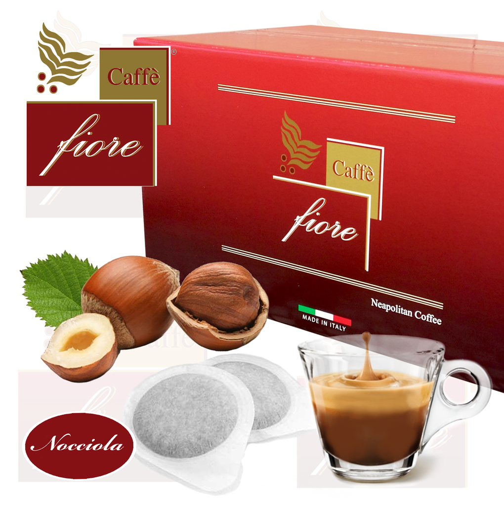 Caffè fiore Coffee Pods flavored with hazelnut