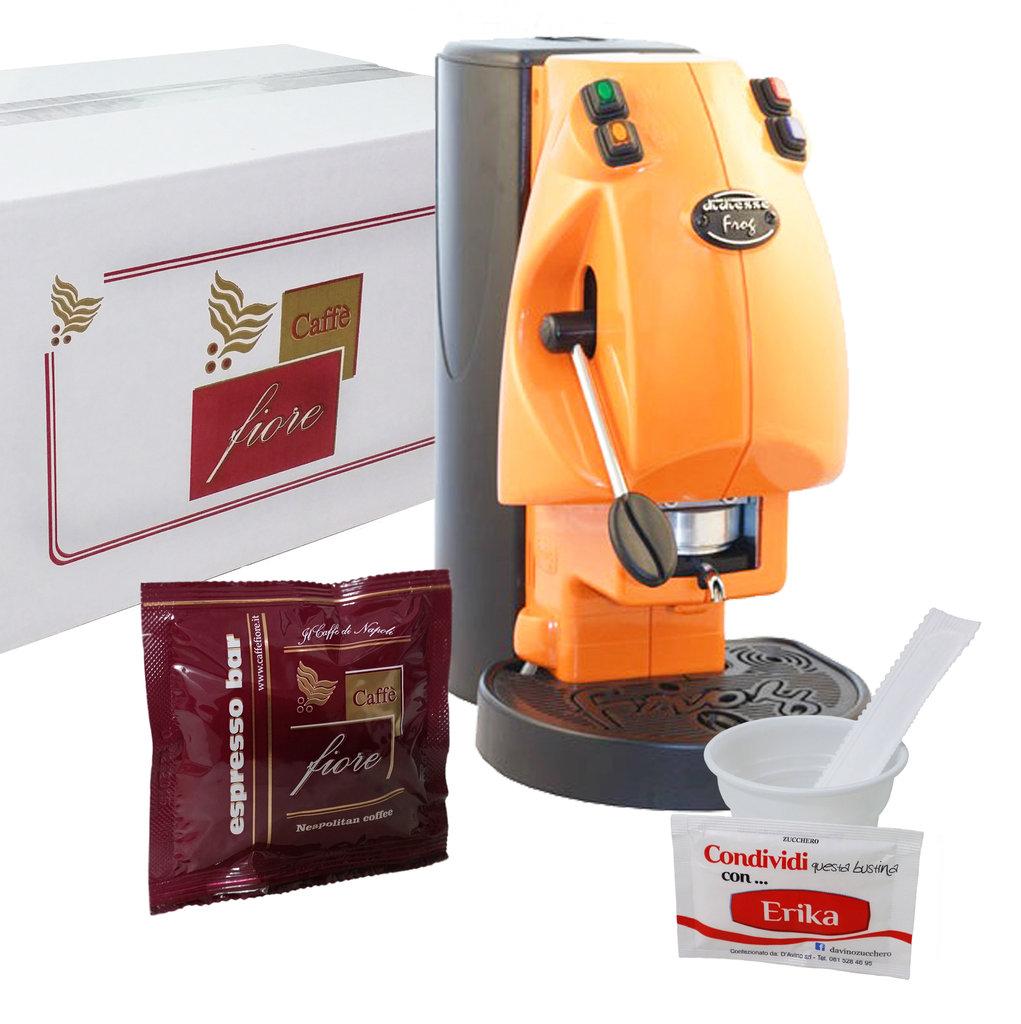 Macchina da caff frog 1 kit da 150 cialde con accessori for Accessori macchina