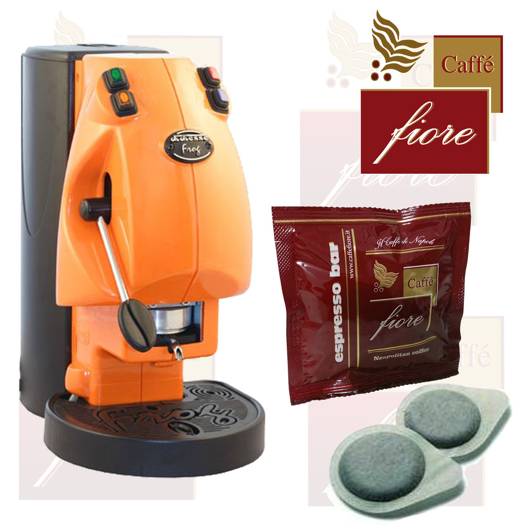 Frog Coffee machine with 750 Coffee Pods + accessory kit