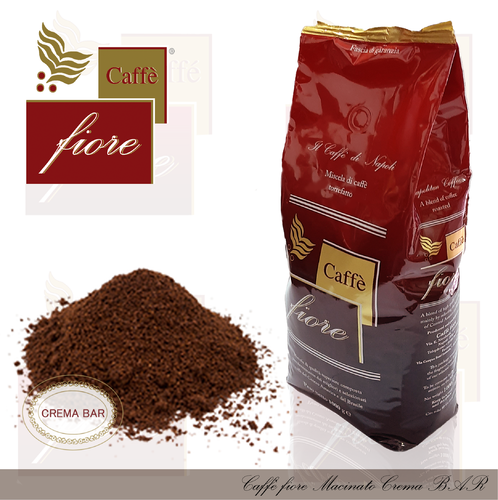Caffè fiore ground coffee Crema Bar