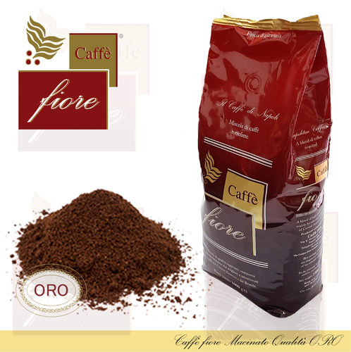 Caffè fiore ground coffee Quality Oro