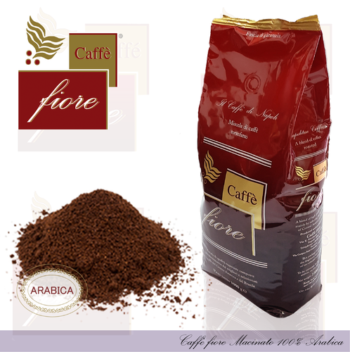 Caffè fiore 100% Arabic ground coffee
