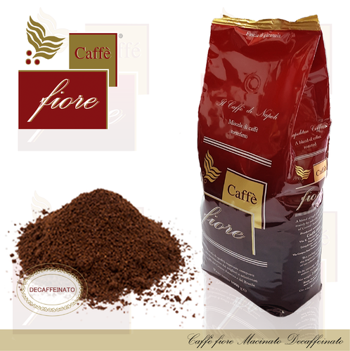 Caffè fiore Decaffeinated ground coffee